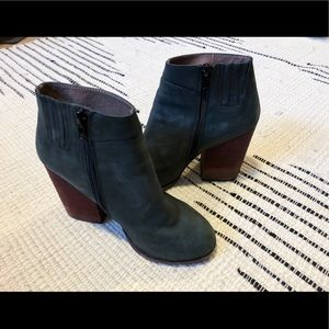 Jeffrey Campbell leather boots 7.5